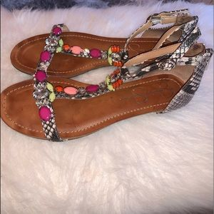 Jessica Simpson T-strap sandal